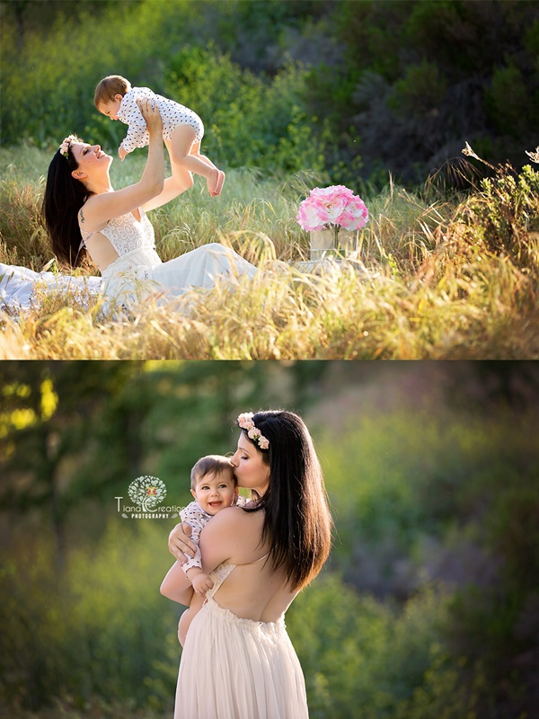 Los Angeles maternity photography with tiana