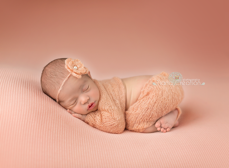 Ideal time for newborn photo shoot